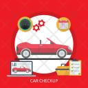 Car Checkup Mechanic Icon