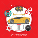Car Modification Mechanic Icon