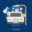 Car Wash Marketing Icon