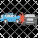 Car Accident Car Mishap Car Wreck Icon