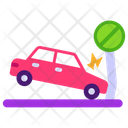 Auto Accident Car Accident Car Hitting Icon