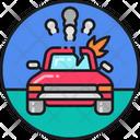 Car Accident Car Destory Accident Icon