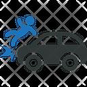 Car Accident Auto Icon