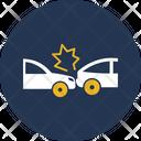 Car Accident Collision Accident Car Icon