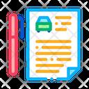 Car Agreement Icon