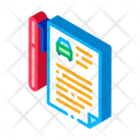 Car Purchase Agreement Icon