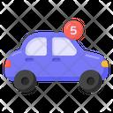 Car Notification Car Alert Vehicle Alert Icon