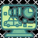 Car Analysis Computer Analysis Icon