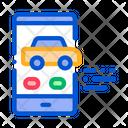 Car Phonemobile Screen Icon
