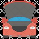 Car Bonnet Car Front Car Engine Icon