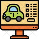 Car booking Icon