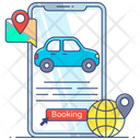 Car Booking Icon