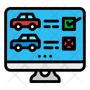 Car Booking Website Booking Website Icon