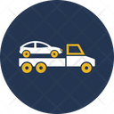 Car Bring On Truck Icon