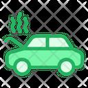 Car Broken Down Icon
