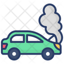 Auto Accident Car Crash Car Burn Icon