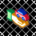 Hand Car Key Icon