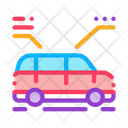 Car Characteristics Smart Icon