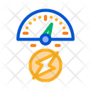 Electro Car Charge Icon