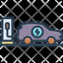Car Charging Car Charging Icon
