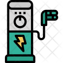Car charging station Icon