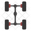 Car Chassis Icon