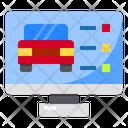 Monitor Check Screen Icon