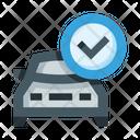 Car Check Car Service Car Maintenance Icon