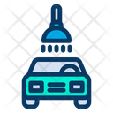Cleaning Service Car Wash Icon
