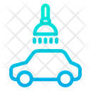Car Cleaning Service Icon