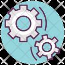 Car Cogwheel Gearshift Icon