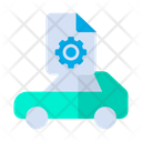 Car Configuration Gear Icon