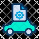 Configuration Gear Transportation Icon
