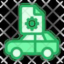 Car Configuration Icon