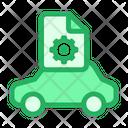 Car Configuration Transportation Icon