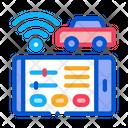 Geolocation Machines Wi Fi Icon