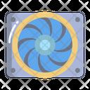 Car Cooler Fan Icon