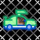 Car Lifting Restoration Icon