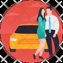 Car Couple Icon