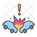 Car Crash Icon