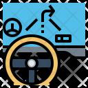Car Dashboard Icon