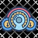 Car Dashboard Speedometer Dashboard Icon