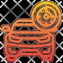 Car Disc Brake Icon