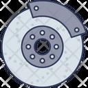 Car Disk Break Car Automobile Icon