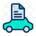 Document Car Papers Maintenance Icon