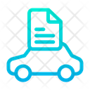 Car Document Car Papers Icon