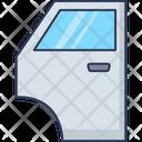 Car Door Vehicle Repair Icon
