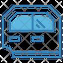 Car Door Exteriror Car Icon