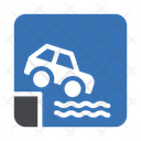 Car Drowning Icon