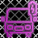Car Electricity Car Electricity Icon